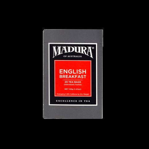 English Breakfast  20 Enveloped  Tea Bags