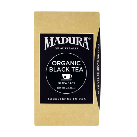 Organic Black Tea  50 Tea Bags
