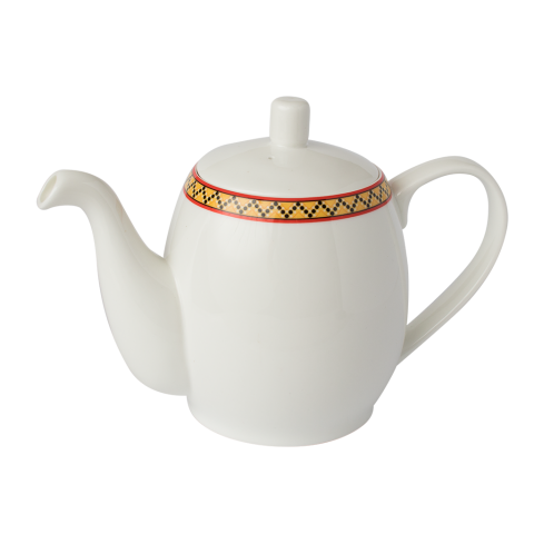 Fine Bone China  600mL Teapot with Infuser  Serves 2 x 250mL Cup