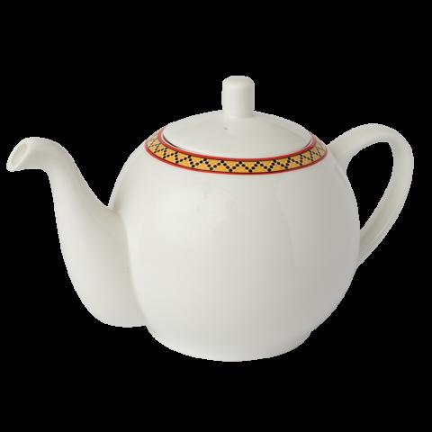 Fine Bone China  1.1L Teapot with Infuser  Serves 4 x 250mL Cups