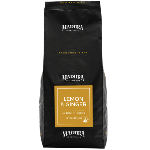 Lemon & Ginger  40 Leaf Infusers  Refill Pouch