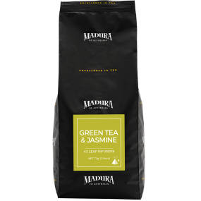 Green Tea & Jasmine  40 Leaf Infusers  Refill Pouch