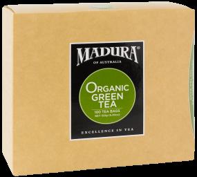 Organic Green  100 Tea Bags