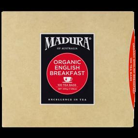 Organic English Breakfast  100 Tea Bags