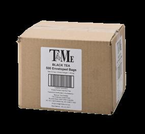 T4Me Black Tea  500 Tea Bags  (Individually Sealed)