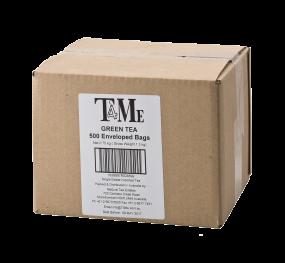 T4Me Green Tea  500 Tea Bags  (Individually Sealed)