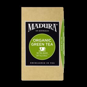 Organic Green  50 Tea Bags