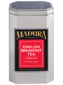 English Breakfast  200g Leaf Tea  Leaf in Caddy
