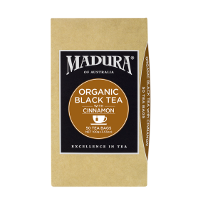 Organic Black  with Cinnamon  50 Tea Bags