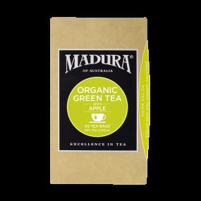 Organic Green Tea  with Apple  50 Tea Bags