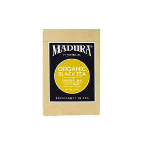 Organic Black Tea  with Lemon & Lime  20 Enveloped Bags