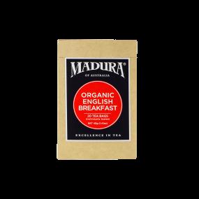 Organic English Breakfast  20 Enveloped  Tea Bags