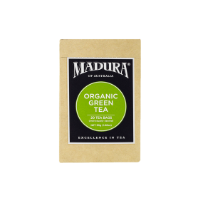 Organic Green  20 Enveloped Tea Bags