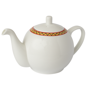 Fine Bone China  1.1L Teapot with Infuser  Serves 4 x 250mL Cups