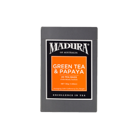 Green Tea & Papaya  20 Enveloped Bags