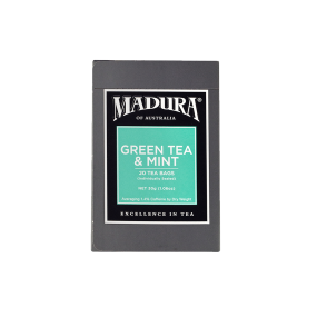 Green Tea & Mint  20 Enveloped Bags