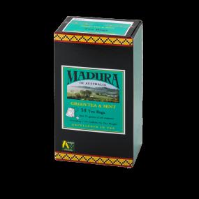 Green Tea & Mint  50 Tea Bags