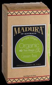 Organic Green  40 Tea Bags