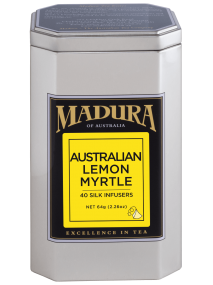 Australian Lemon Myrtle  40 Silk Infusers  in Caddy