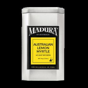 Australian Lemon Myrtle  40 Leaf Infusers  in Caddy
