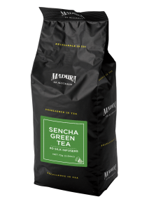 Sencha Green  40 Silk Infusers  Refill Pouch