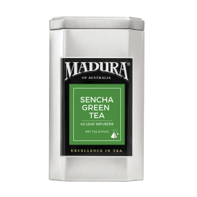 Sencha Green  40 Leaf Infusers  in Caddy