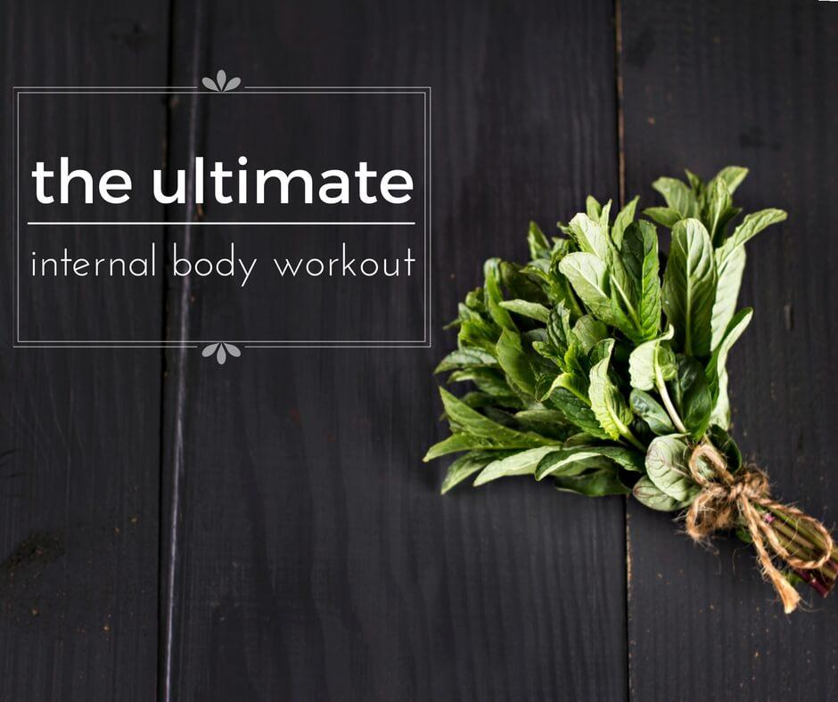 Peppermint Tea Body Workout