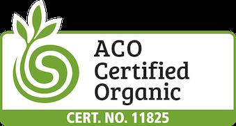 Australian Certified Organic, Cert. No. 11825