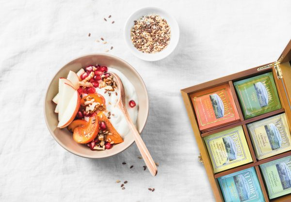 detox brekkie box with madura tea