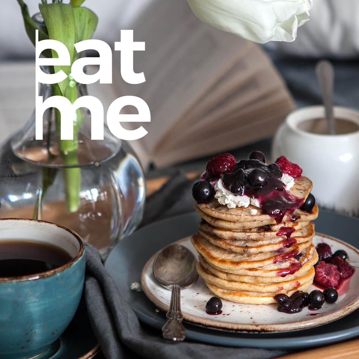 Organic Black Tea Infused Pancakes with Lemon and Lime Recipe
