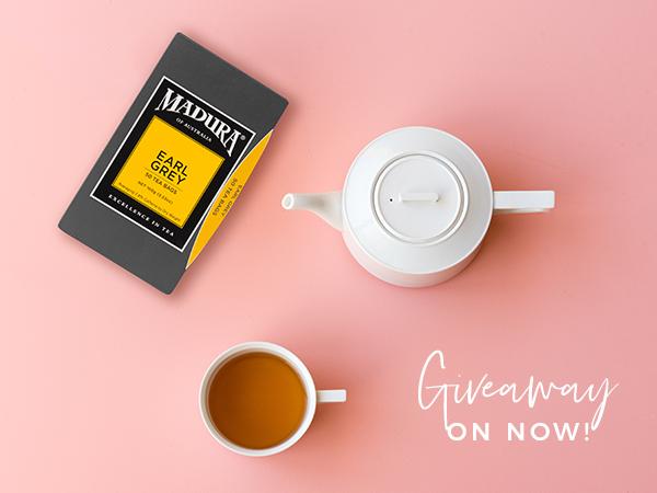 Madura's Earl Grey Tea Giveaway